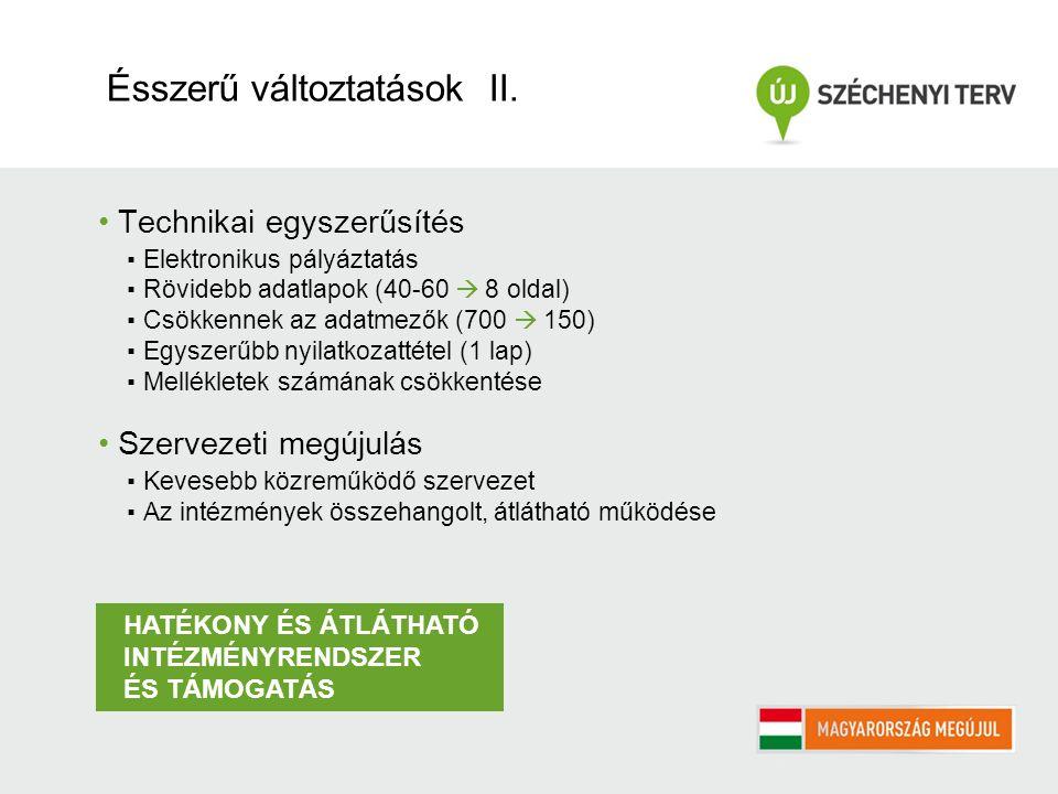 1.Pályázatok 2. Pénzügyi eszközök 3. Nemzeti Programok 2011.