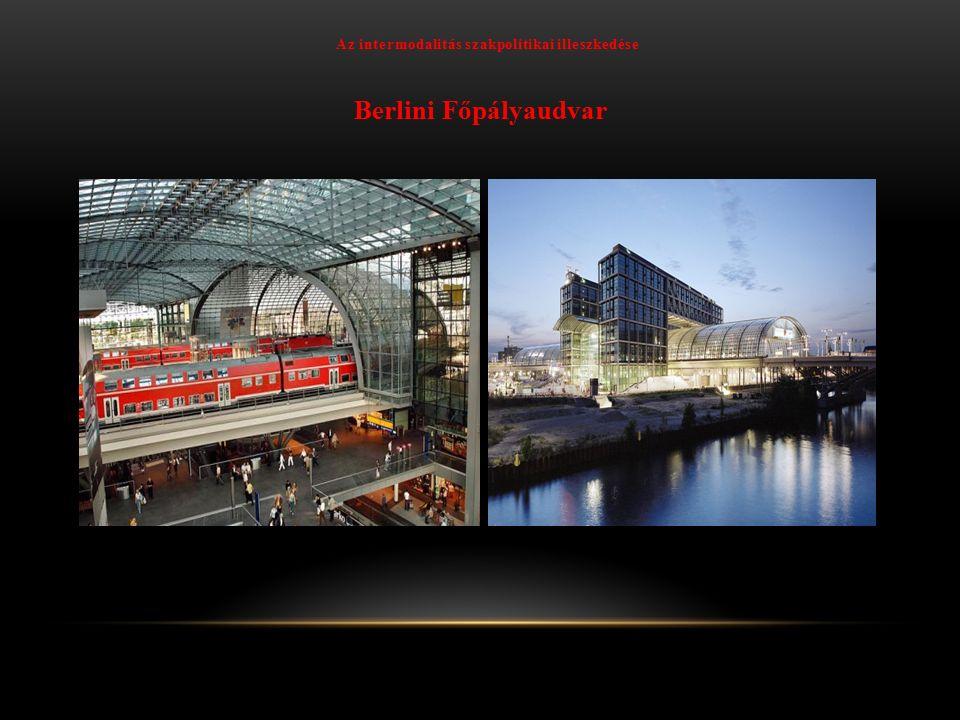 Az intermodalitás szakpolitikai illeszkedése Graz Hauptbahnhof