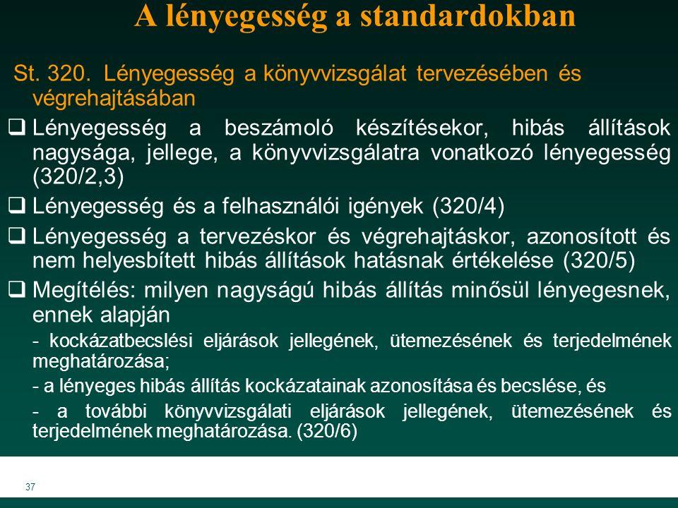 MKVK MEB 2007 37 A lényegesség a standardokban St.