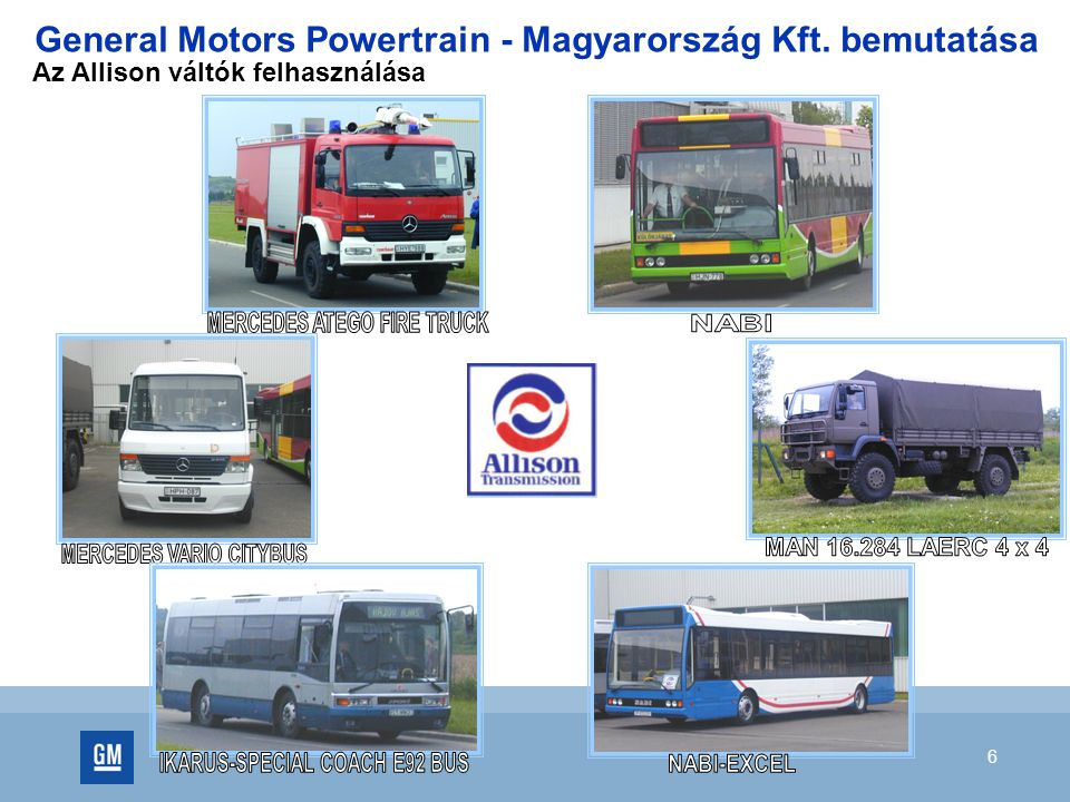 7 Létszám Átlagéletkor: 37 év General Motors Powertrain - Magyarország Kft. bemutatása