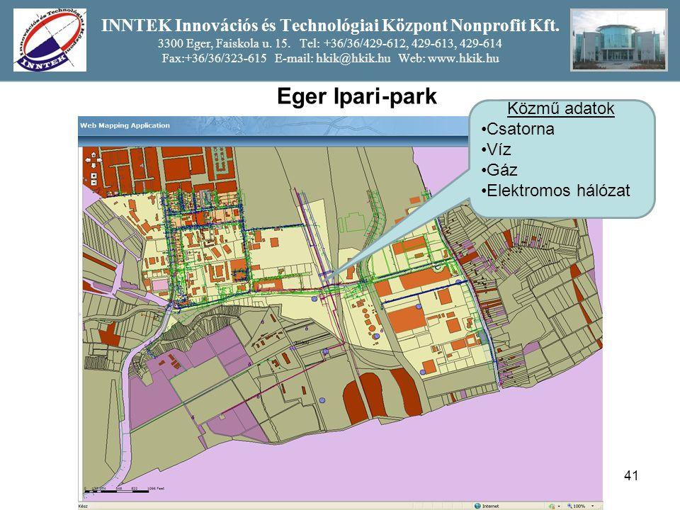 41 INNTEK Innovációs és Technológiai Központ Nonprofit Kft.