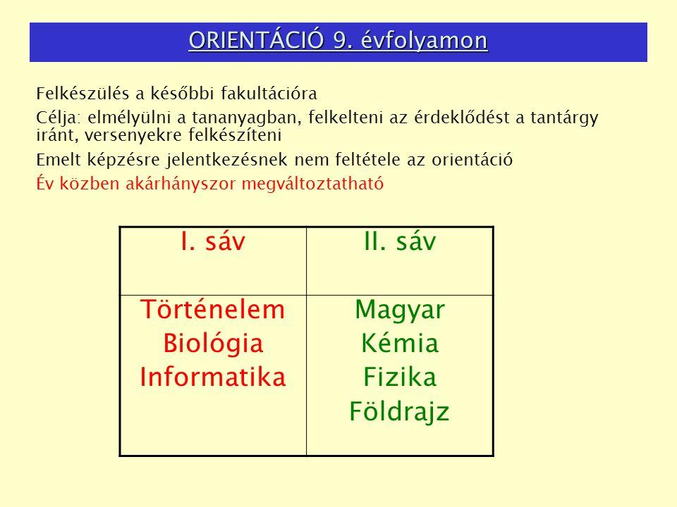 ORIENTÁCIÓ 9.
