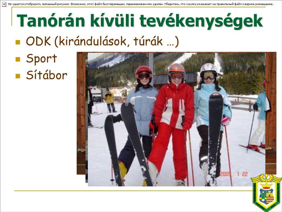 ODK (kirándulások, túrák …) Sport Sítábor
