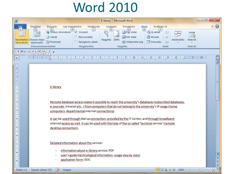 Word 2010 20