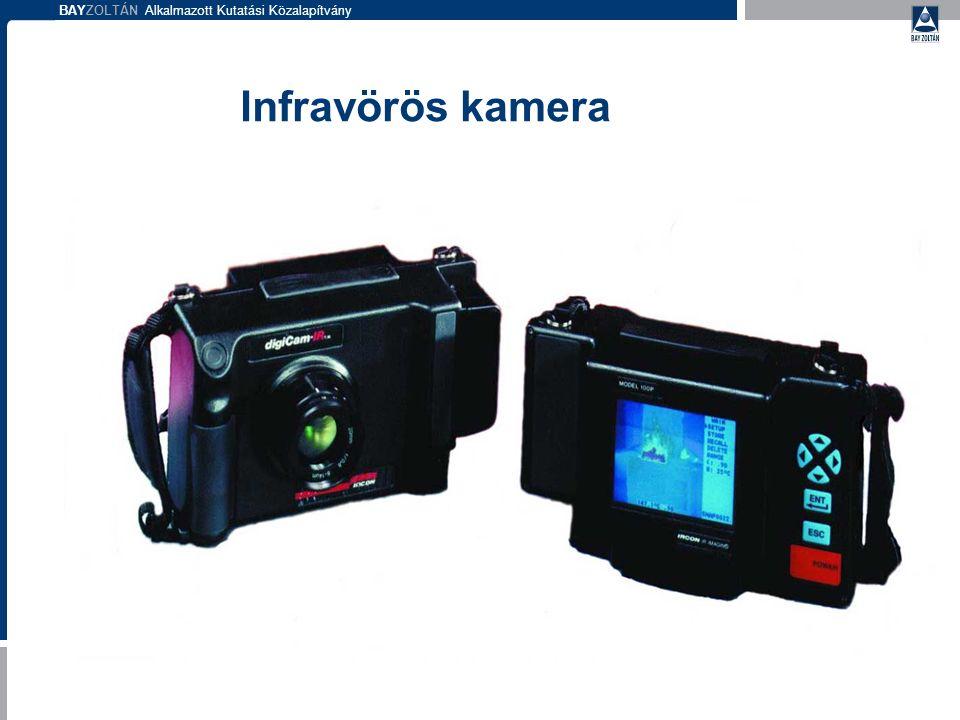 BAYZOLTÁN Alkalmazott Kutatási Közalapítvány Infravörös kamera