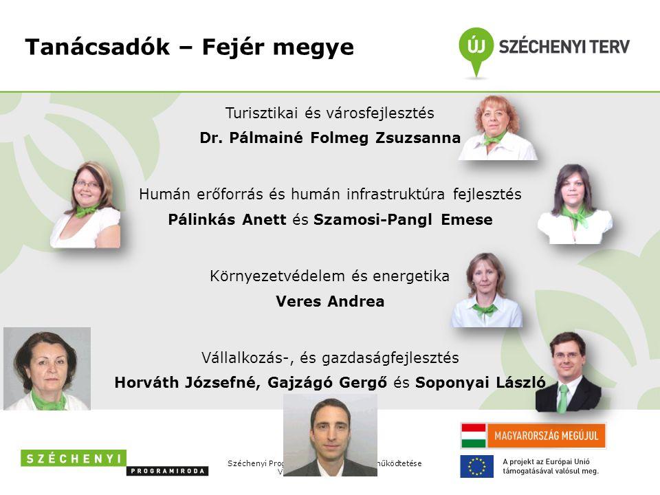 Tanácsadók – Fejér megye Turisztikai és városfejlesztés Dr.