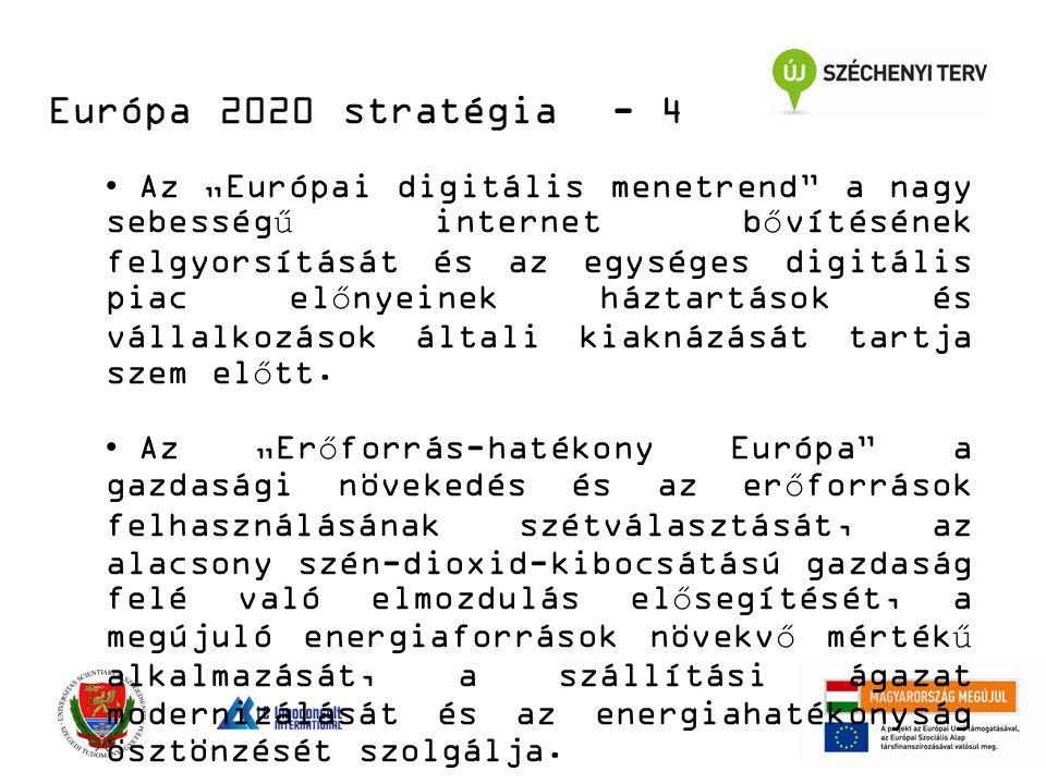 """Az """"Európai digitális menetrend a nagy sebességű internet bővítésének felgyorsítását és az egységes digitális piac előnyeinek háztartások és vállalkozások általi kiaknázását tartja szem előtt."""
