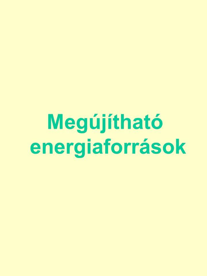Megújítható energiaforrások