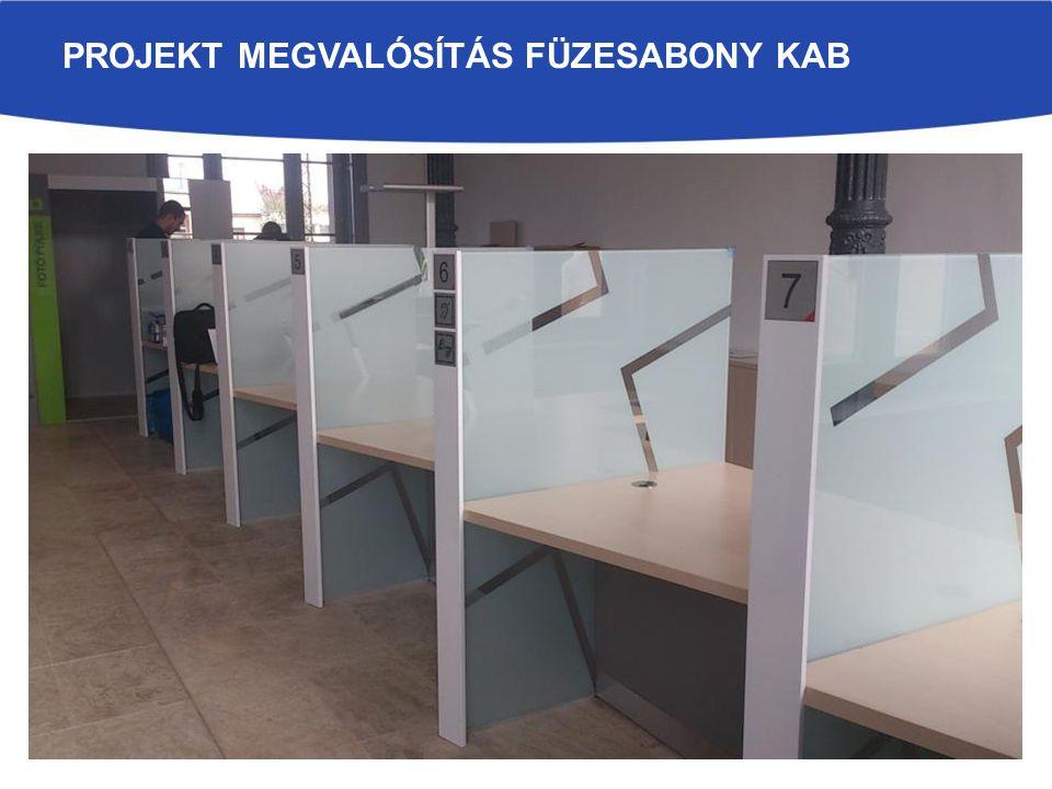PROJEKT MEGVALÓSÍTÁS FÜZESABONY KAB
