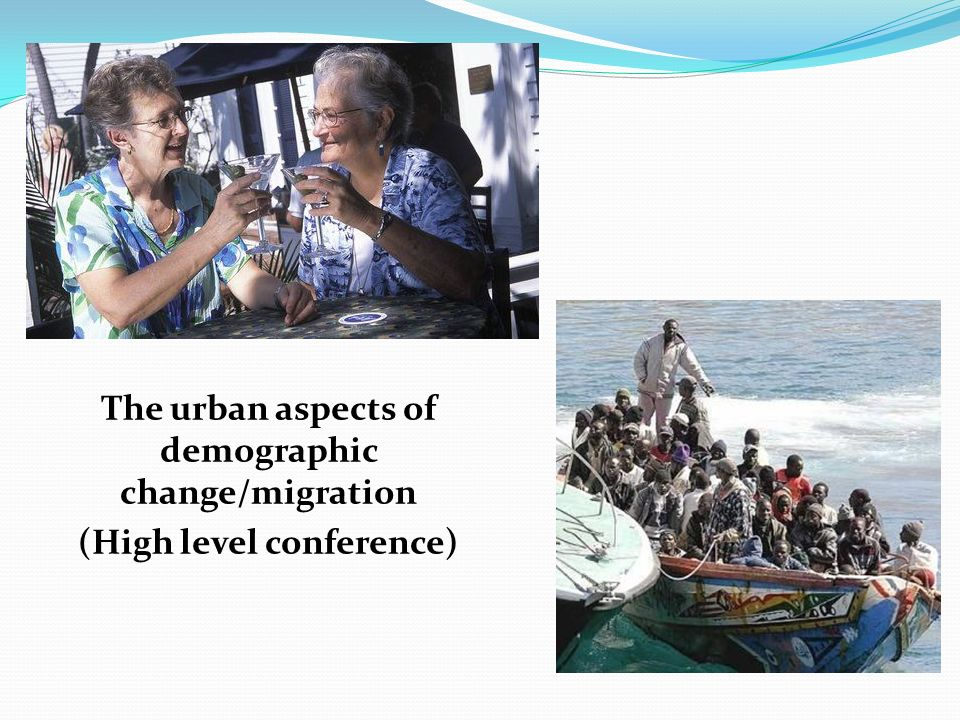 The urban aspects of demographic change/migration (High level conference)