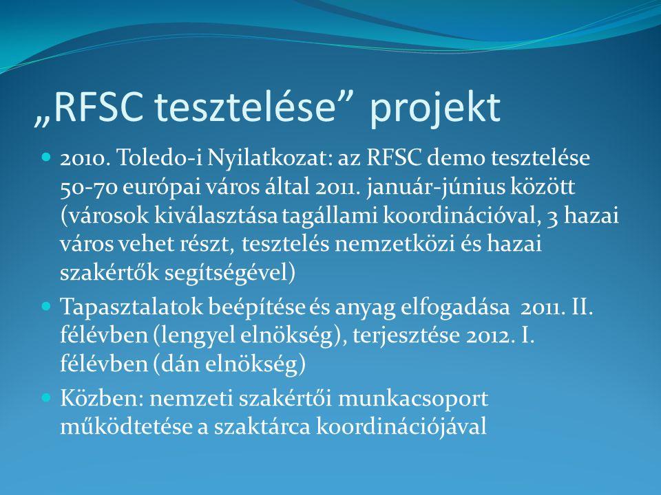 """""""RFSC tesztelése projekt 2010."""