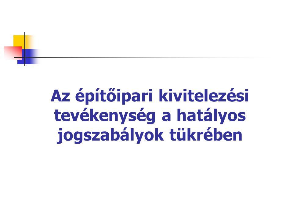 Általános követelmények A kiviteli terv tartalma nem térhet el az engedélyezési tervtől (kivéve azt ami egyébként sem engedélyköteles) Az építési munkaterületen kell tartani Átadás–átvétel után kivitelező az építtetőnek átadja Magyar nyelven, kötelező formai előírások betartásával kell elkészíteni