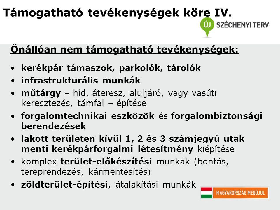 2.Költségvetést alátámasztó mellékletek (Pályázati Felhívás E2., Pályázati Útmutató C2.2.) 3.