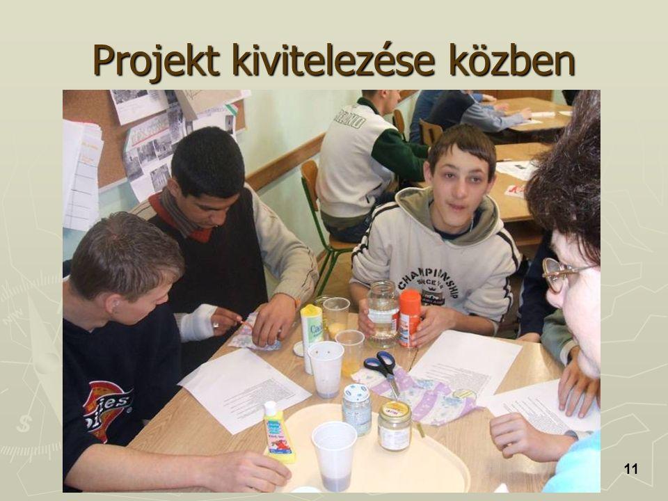 Projekt kivitelezése közben 11