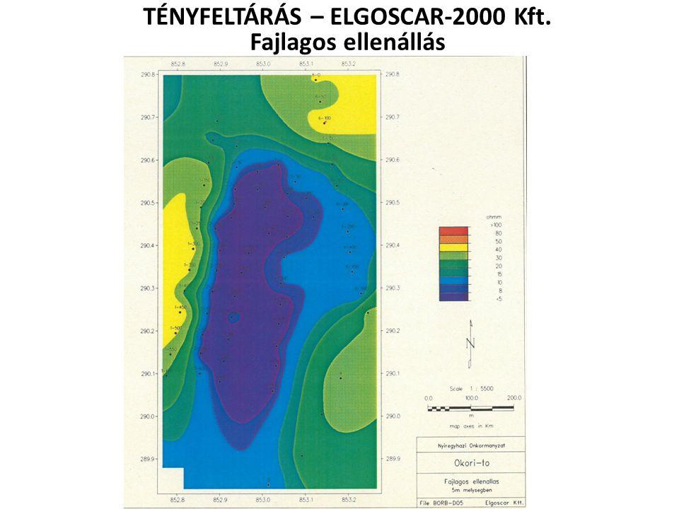 TÉNYFELTÁRÁS – ELGOSCAR-2000 Kft. Fajlagos ellenállás