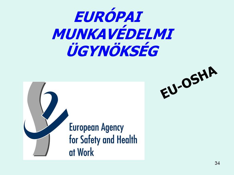 34 EURÓPAI MUNKAVÉDELMI ÜGYNÖKSÉG EU-OSHA