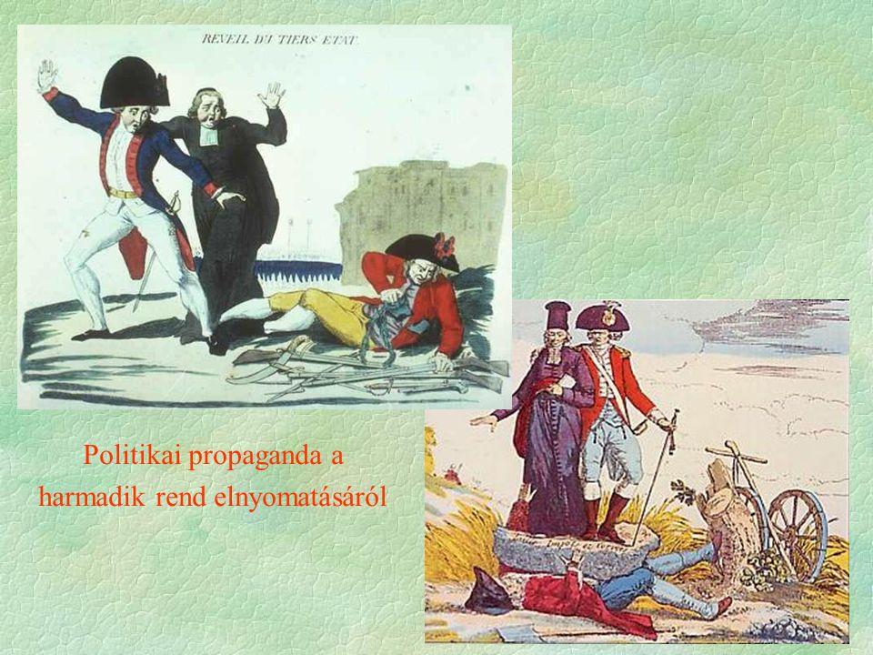 Politikai propaganda a harmadik rend elnyomatásáról