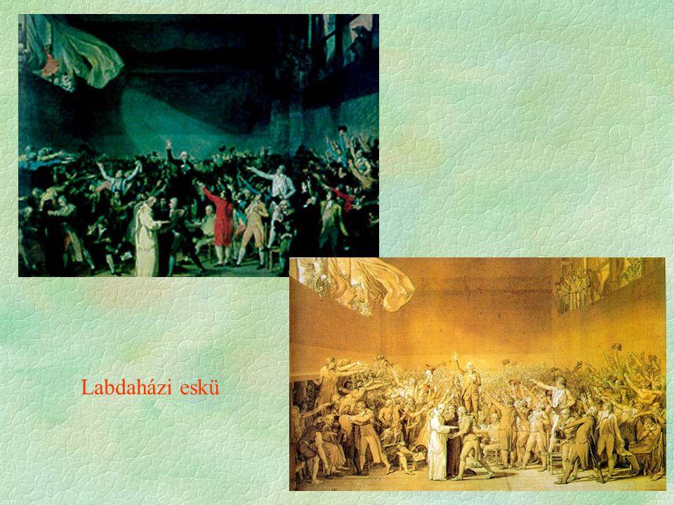 """""""Monsieur, allez dire à votre maître que nous ne quitterons nos places que par la puissance des baïonnettes Mirabeau apostrophant Dreux Brézé, Versailles le 23 juin 1789."""