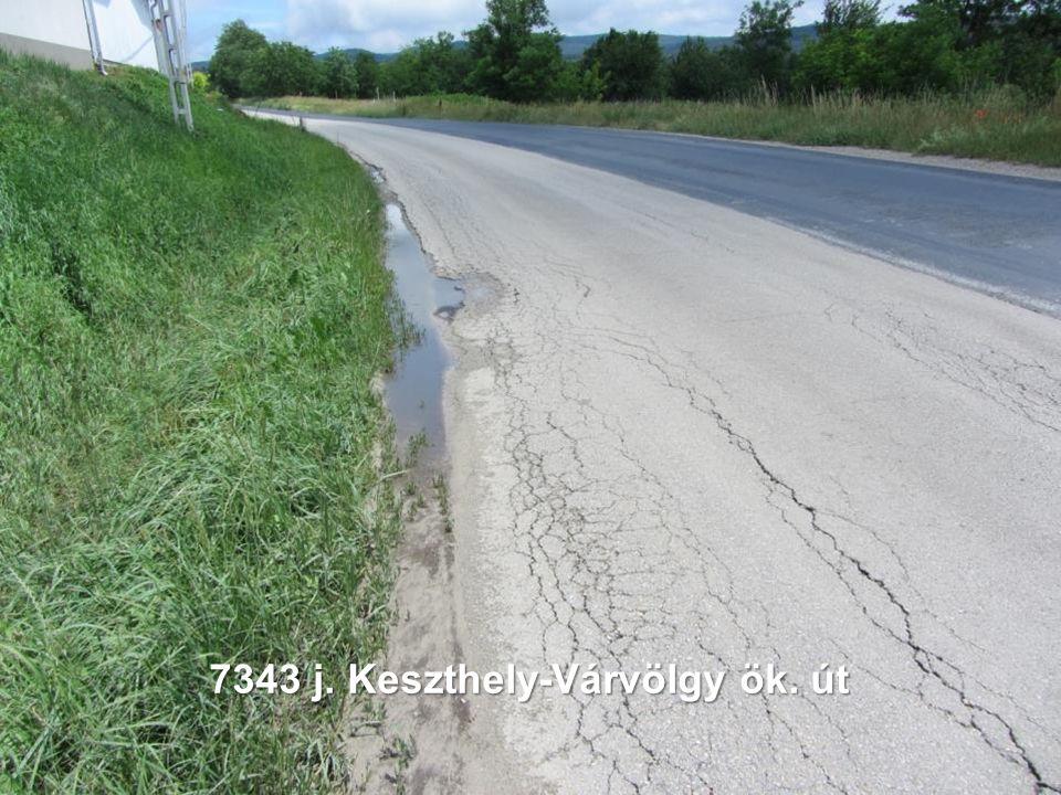 7343 j. Keszthely-Várvölgy ök. út