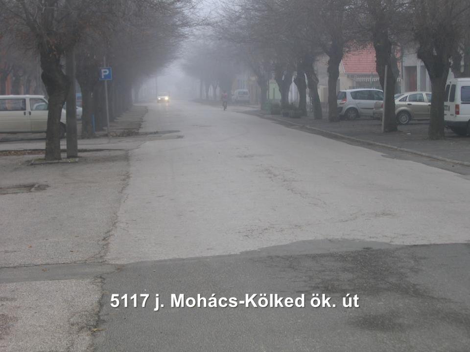 5117 j. Mohács-Kölked ök. út