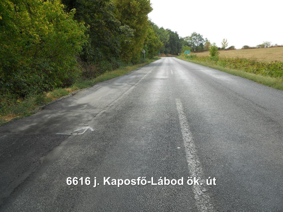 6616 j. Kaposfő-Lábod ök. út