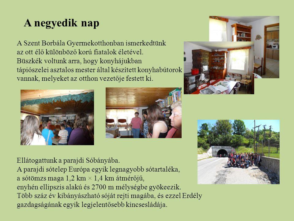 A Szent Borbála Gyermekotthonban ismerkedtünk az ott élő különböző korú fiatalok életével.