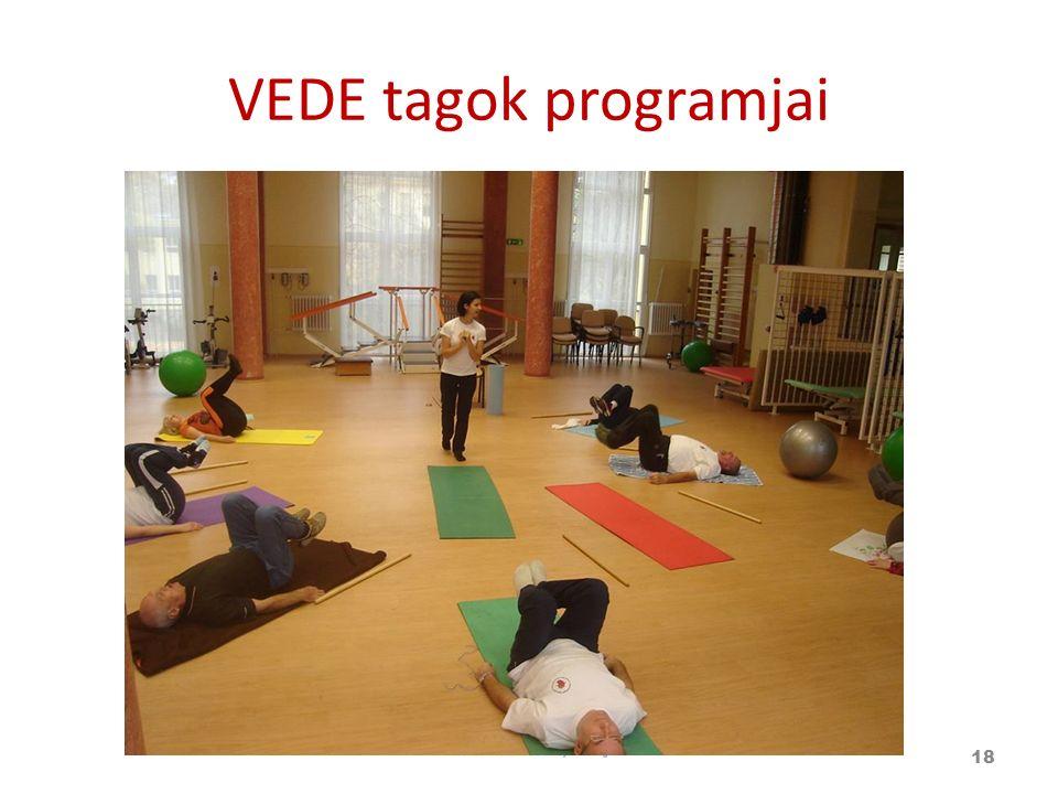 VEDE tagok programjai 18