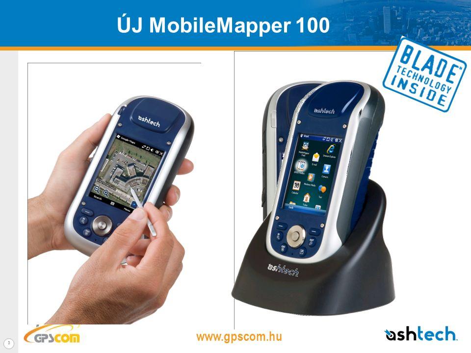 www.gpscom.hu 2 Ashtech MobileMapper termékcsaládÉrték A felhasználók száma Pontosság 2-5 m RT <1 m PP <1 m RT High-end GIS Középszintű GIS Belépőszintűl GIS Ár Új Ashtech kézi GPS