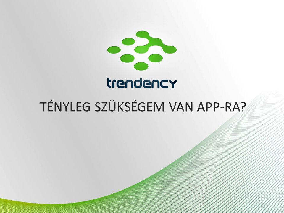 ANDROID  Nyílt forráskódú mobiloperációs rendszer, amely hosszútávon a legnépszerűbb lesz, a növekedését nézve  Előnye egyben a hátránya: bármilyen készülékre telepíthető, a hardver teljesítmények széles skálán mozognak  Ugyanaz az applikáció nem fut minden telefonon  Sok a biztonsági rés az Android rendszerében  A nyíltsága és a mögötte álló fejlesztési közösség révén, jóval gyorsabban fejlődik