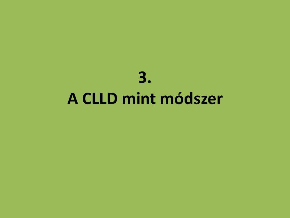 3. A CLLD mint módszer