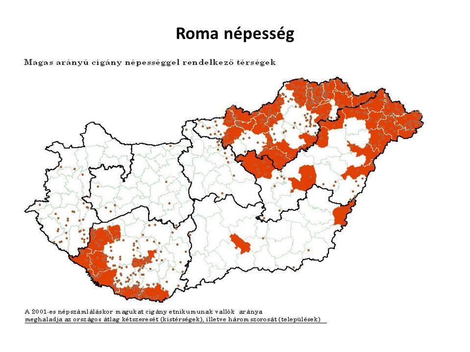 Roma népesség