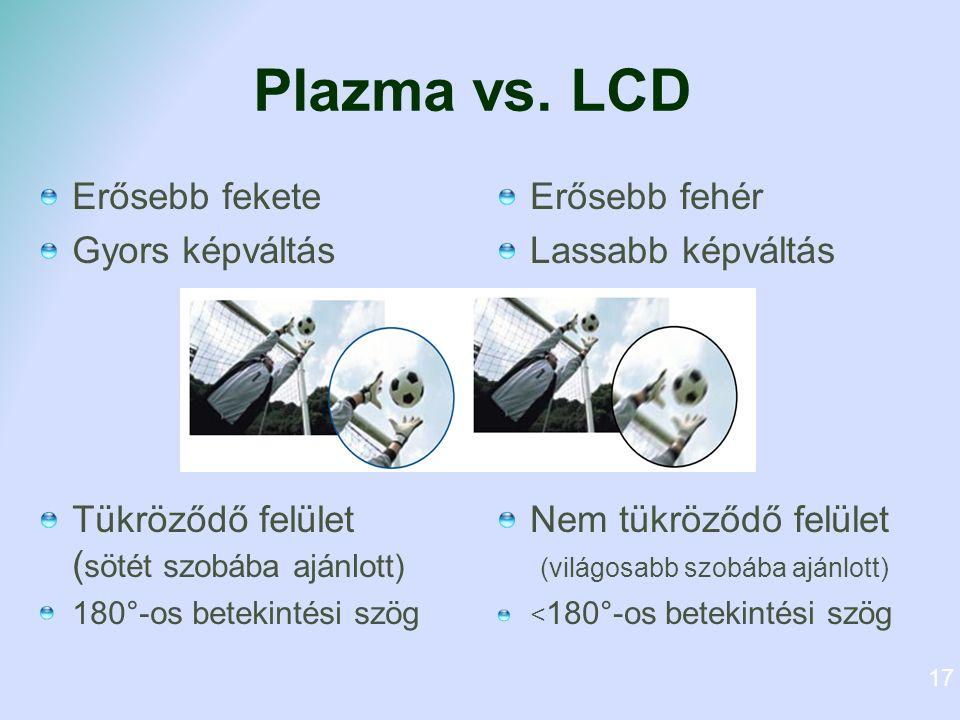 Plazma vs.