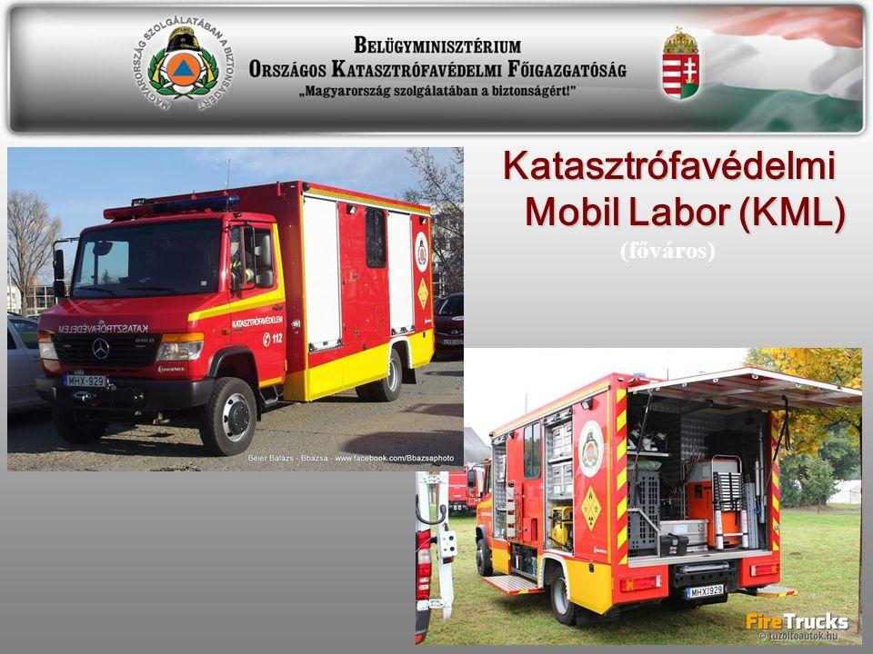 Katasztrófavédelmi Mobil Labor (KML) (főváros)