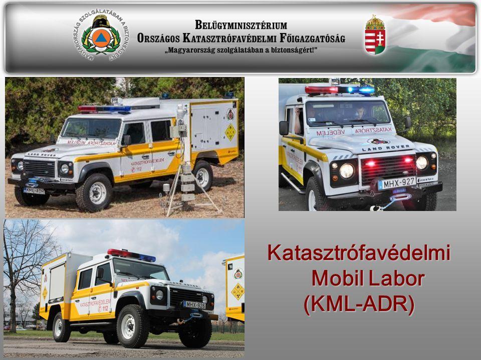 Katasztrófavédelmi Mobil Labor (KML-ADR)