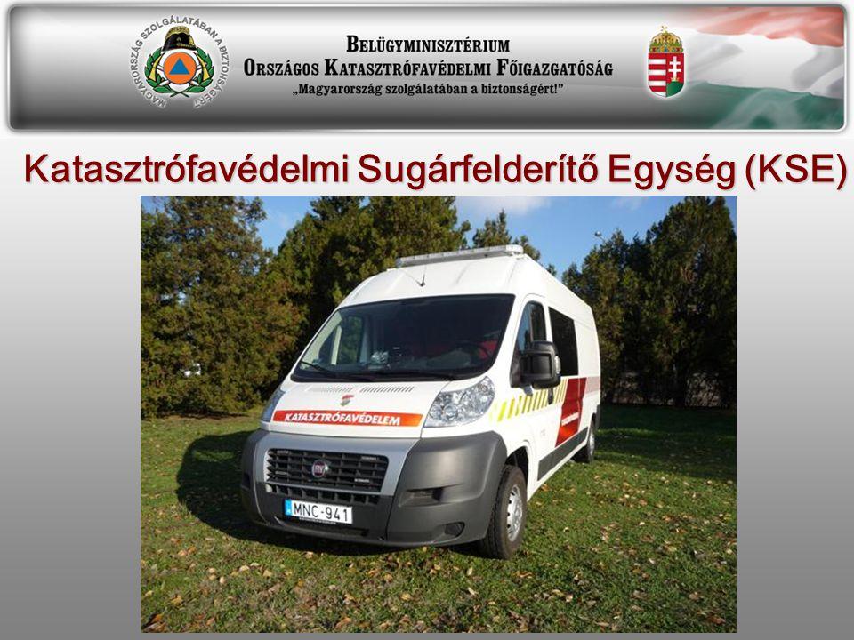Katasztrófavédelmi Sugárfelderítő Egység (KSE)