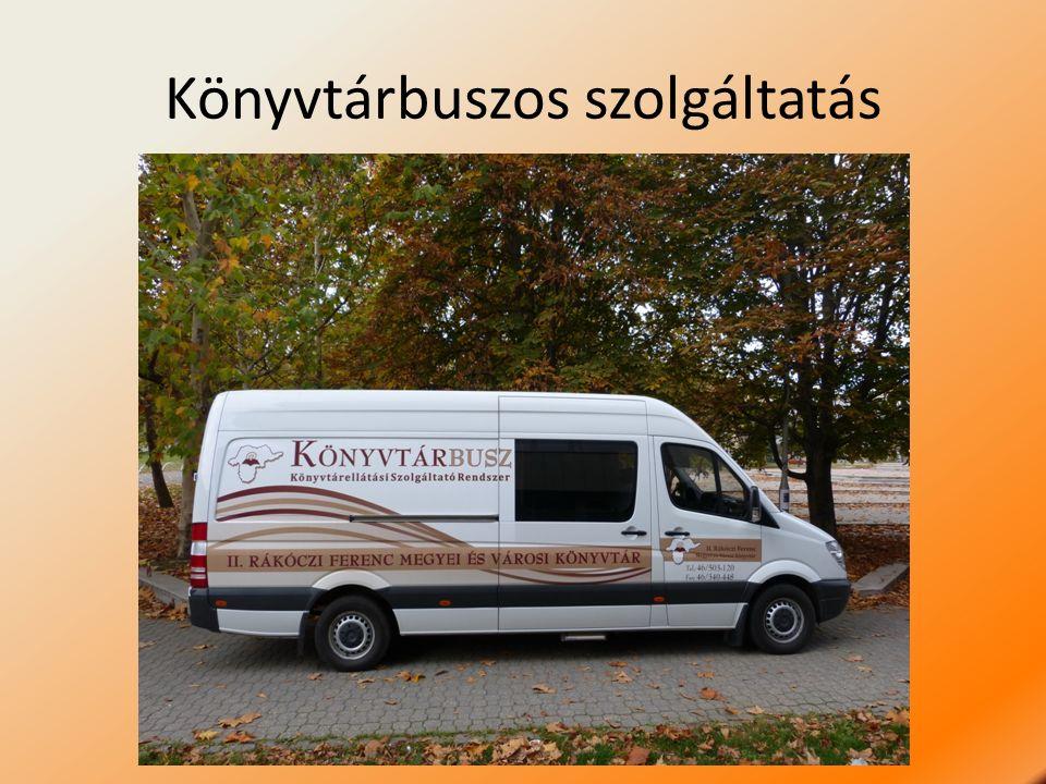 Könyvtárbuszos szolgáltatás