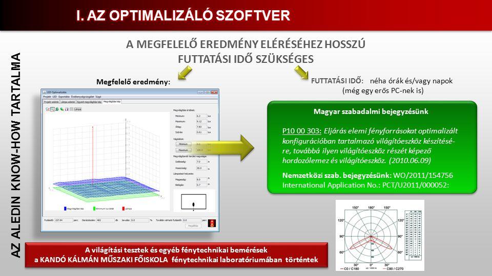 Magyar szabadalmi bejegyzésünk P10 00 303: Eljárás elemi fényforrásokat optimalizált konfigurációban tartalmazó világítóeszköz készítésé- re, továbbá ilyen világítóeszköz részét képező hordozólemez és világítóeszköz.