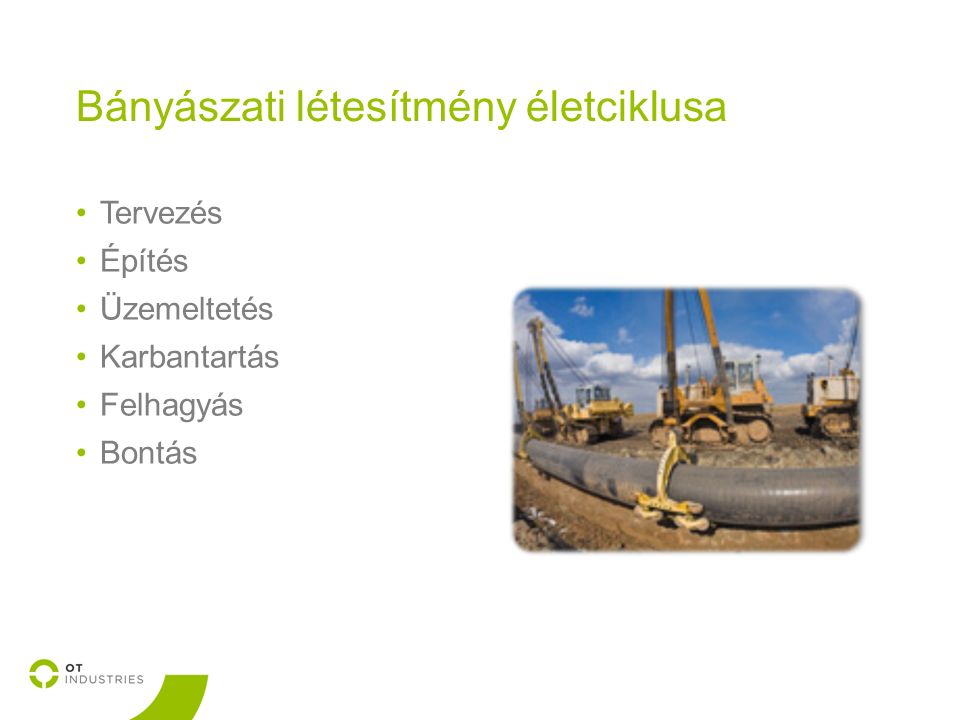 Építési jogosultság igazolása szállítóvezetéki rekonstrukció során Jogi okfejtés: Az ingatlan rendeltetésszerű használatát akadályozó bányászati létesítmény, szénhidrogén-szállítóvezeték és egyéb gáz- és gáztermékvezeték üzemelésének – beleértve az üzemelés megszüntetésével járó tevékenységet is – időtartamára a bányavállalkozó szolgalmi jog alapítását igényelheti.