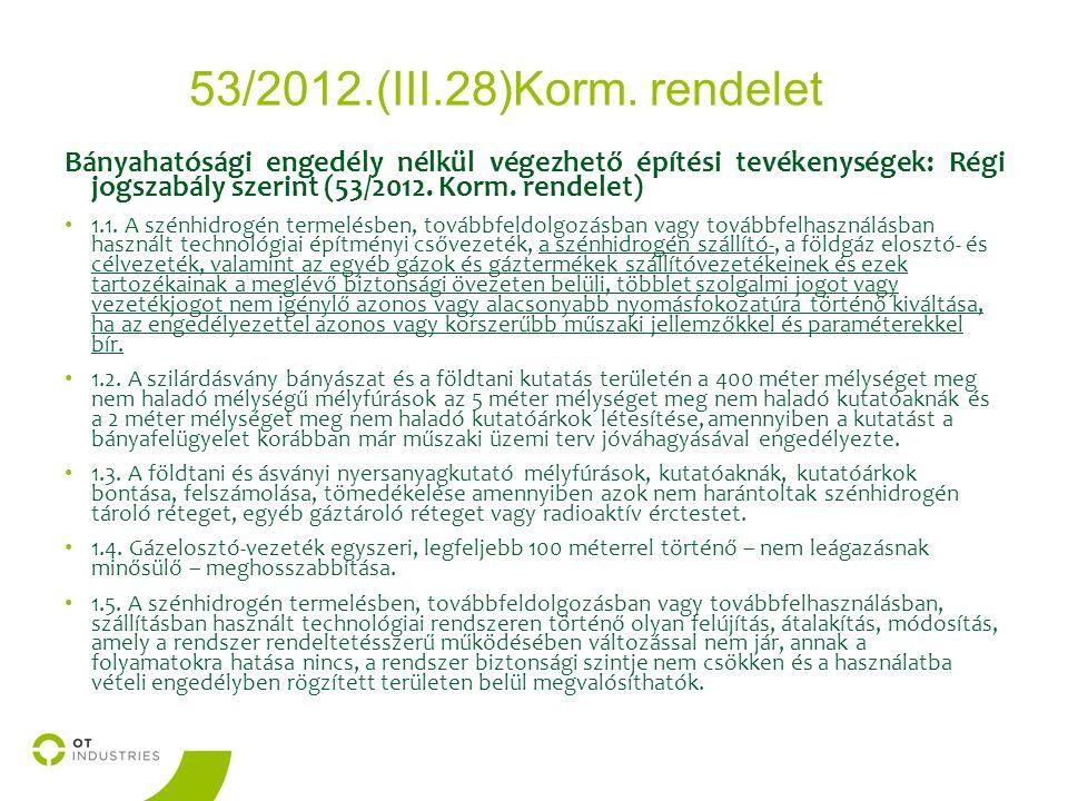 53/2012.(III.28)Korm.