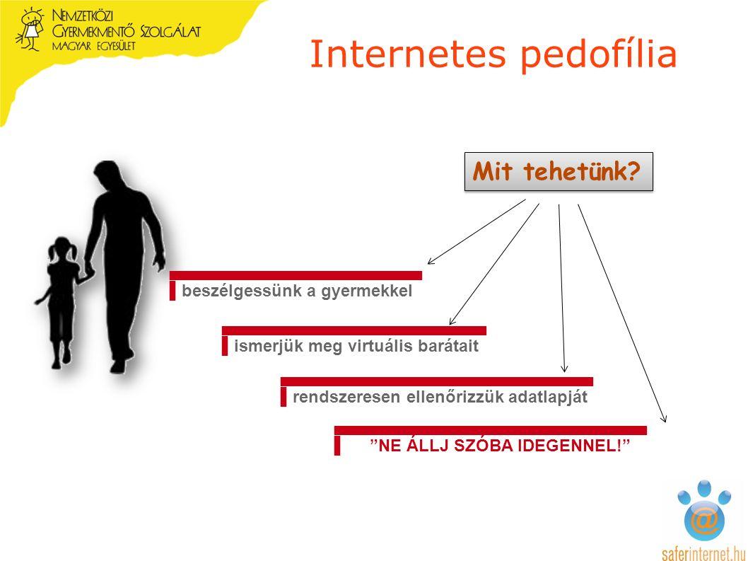 Internetes pedofília ▄▄▄▄▄▄▄▄▄▄▄▄▄▄▄▄▄▄▄▄▄▄ ▌ismerjük meg virtuális barátait Mit tehetünk.