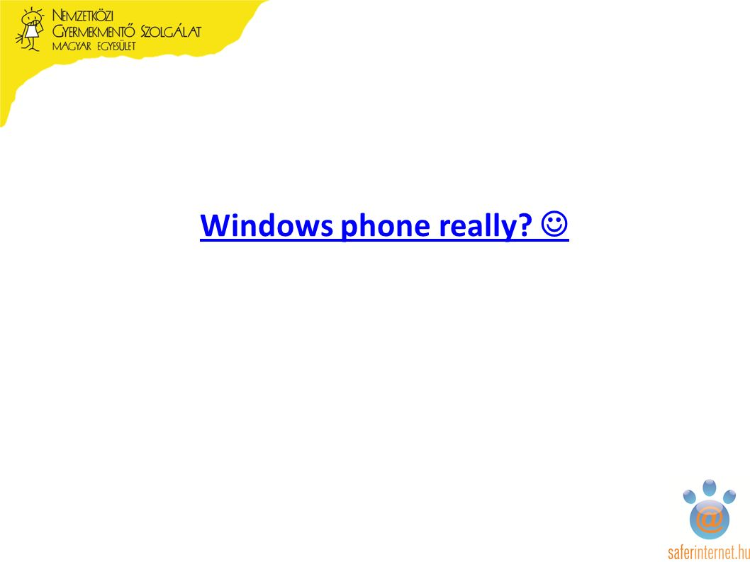 Windows phone really