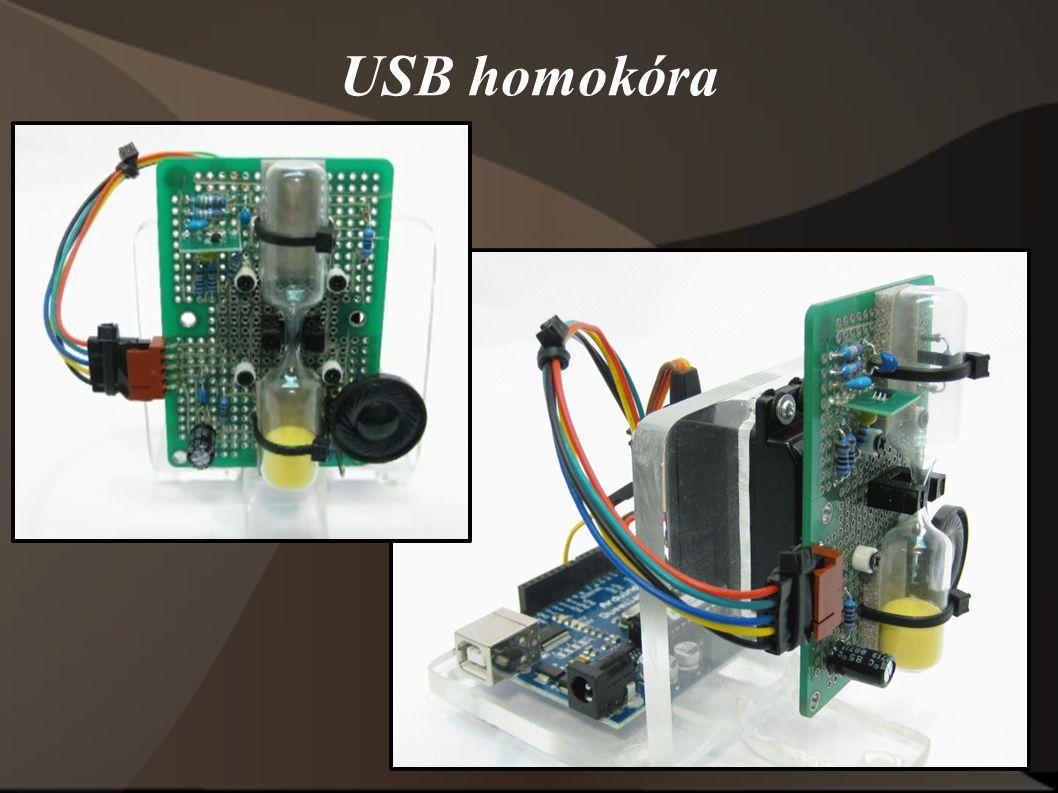 USB homokóra