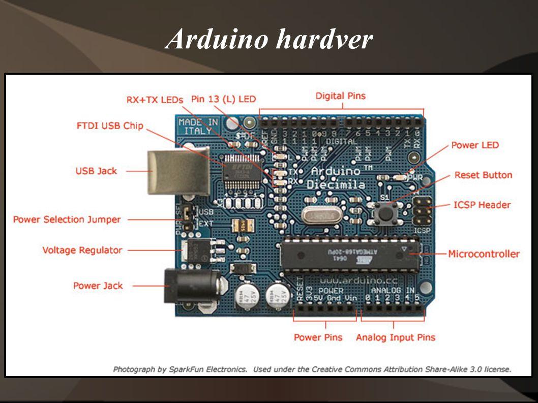 Arduino hardver