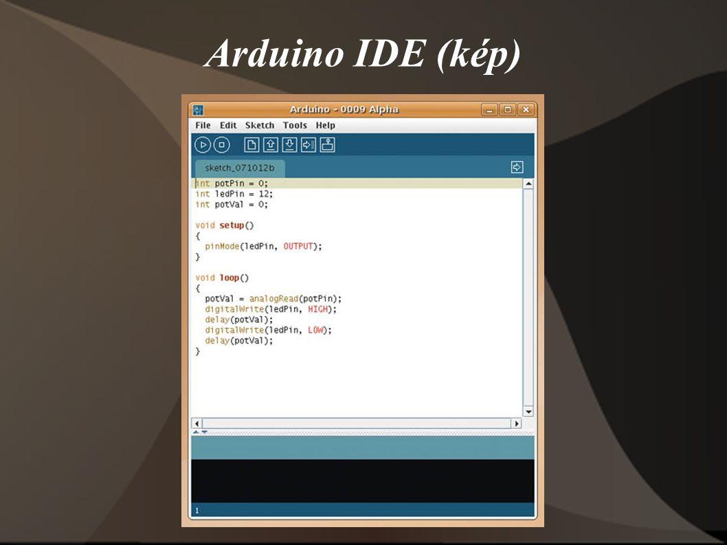 Arduino IDE (kép)