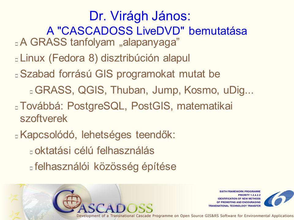 Dr. Virágh János: A