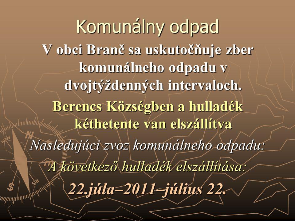Turnaj dospelých: Kedy: 30.7.2011 Kde: Areál ZŠ v Branči O koľkej: 14:00 hod.