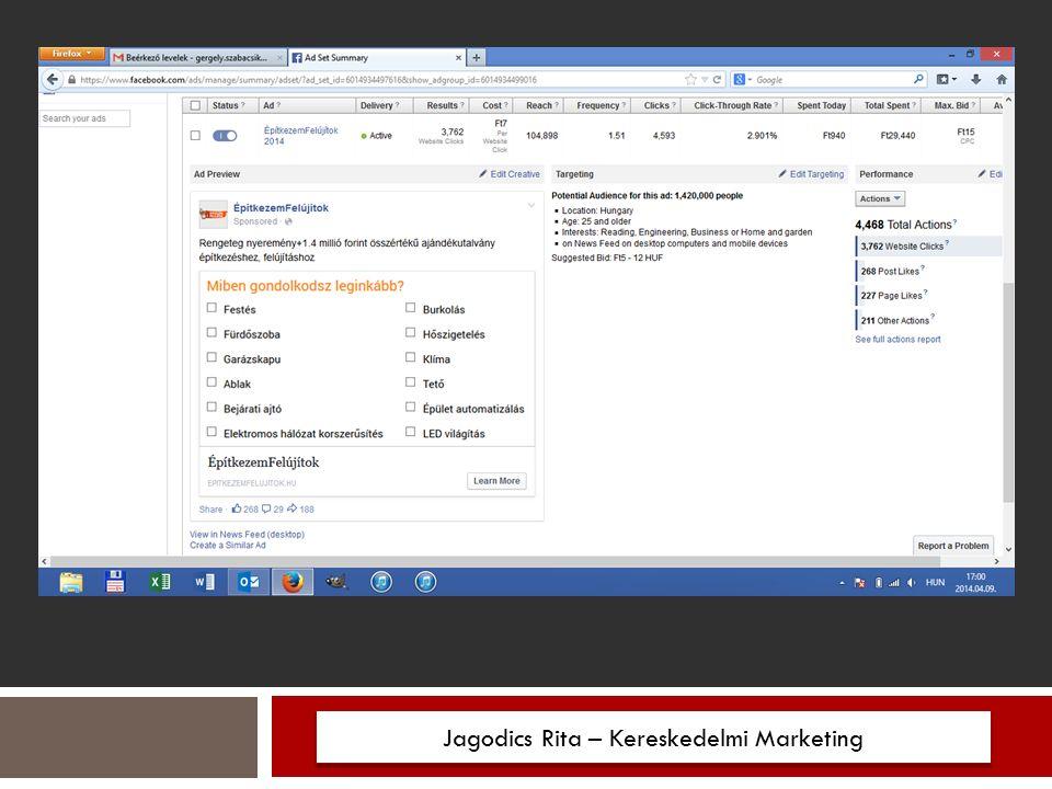 Jagodics Rita – Kereskedelmi Marketing