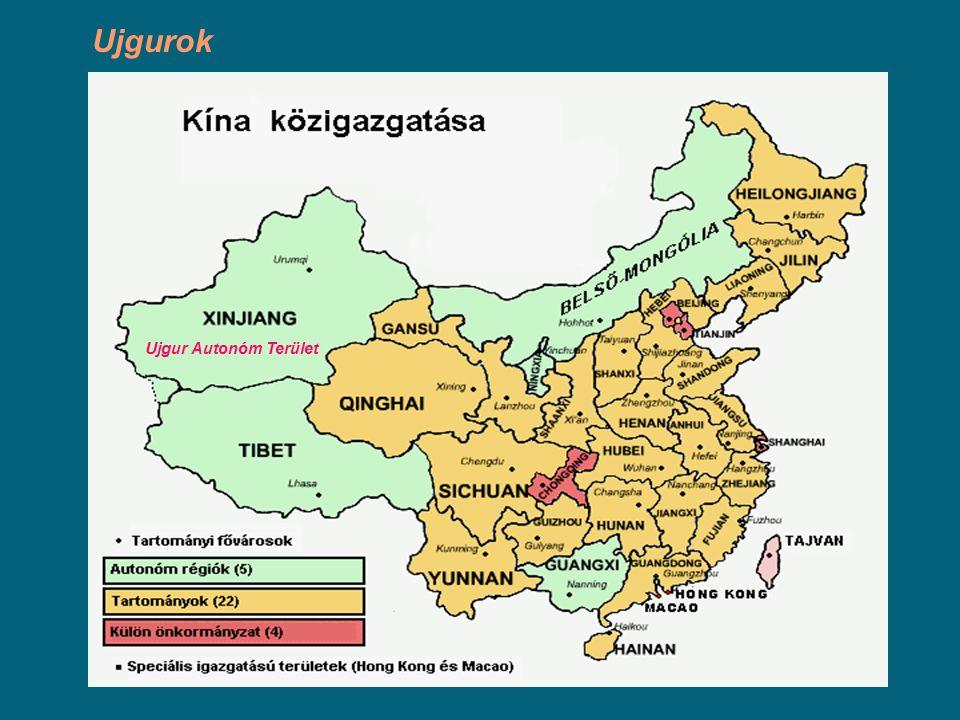 Ujgur Autonóm Terület Ujgurok