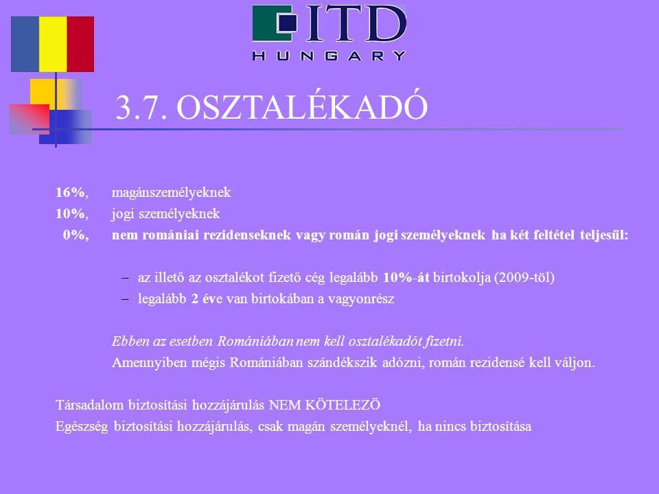 4.JÖVEDELEMADÓ ÉS ILLETÉKEK Adótörvénykönyv IV. cím (2OO3.