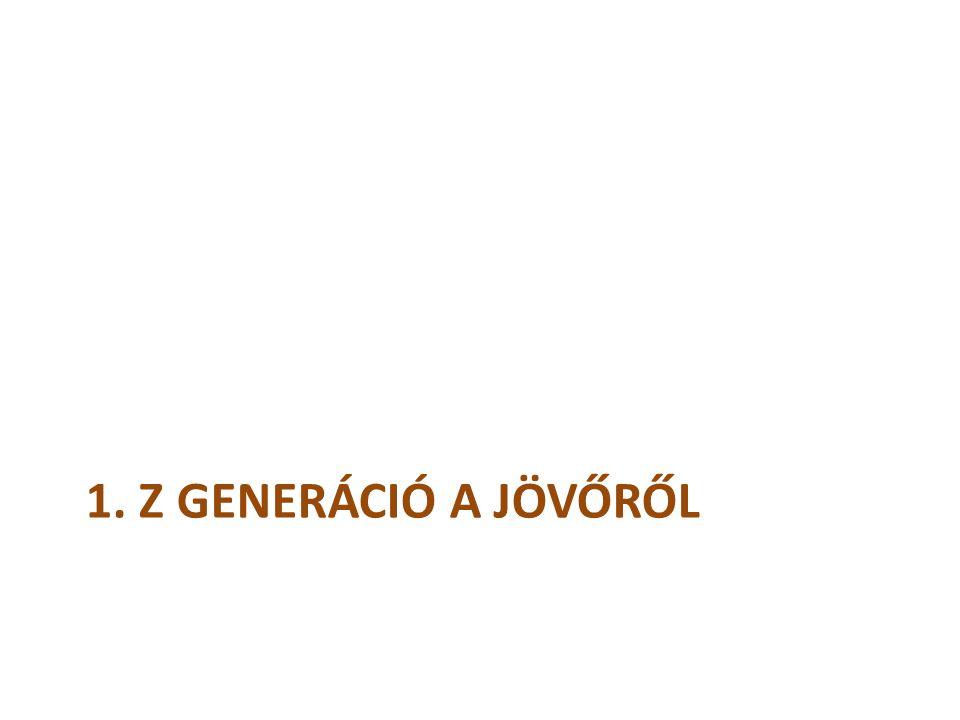1. Z GENERÁCIÓ A JÖVŐRŐL